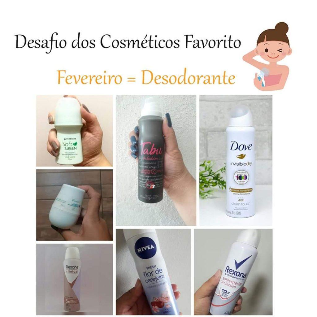 Desafio dos Cosméticos -Desodorante