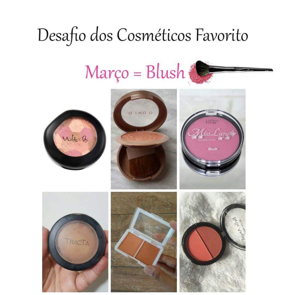Desafio dos cosméticos- Blush